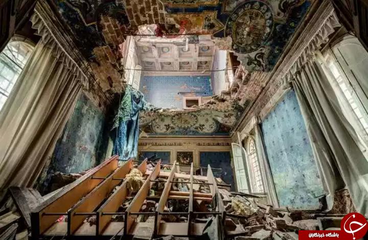 زیباترین  مکان های متروکه جهان + تصاویر