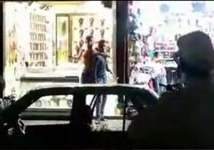 گروگانگیری در خیابان امام رضا (ع) مشهد+فیلم