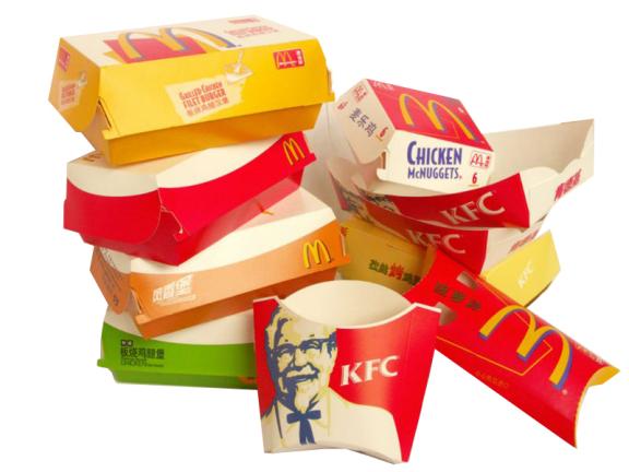 1-ظروف بسته بندی سمیتر از فست فود2-وقتی جعبههای مقوایی پیتزا بلای جانتان میشود