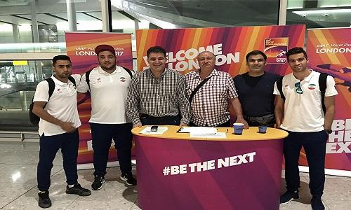 ورود اعضای تیم ملی به لندن