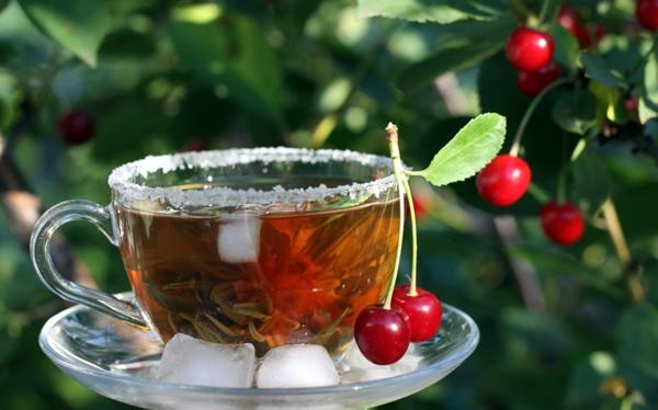 خواص شگفت انگیز چای آلبالو + دستور تهیه///شنبه
