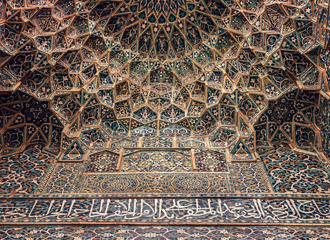 مسجد جامع کرمان یادگاری از معماری فاخر