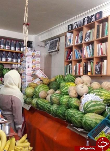 چخوف، تولستوی و فرهاد در یک میوهفروشی+عکس