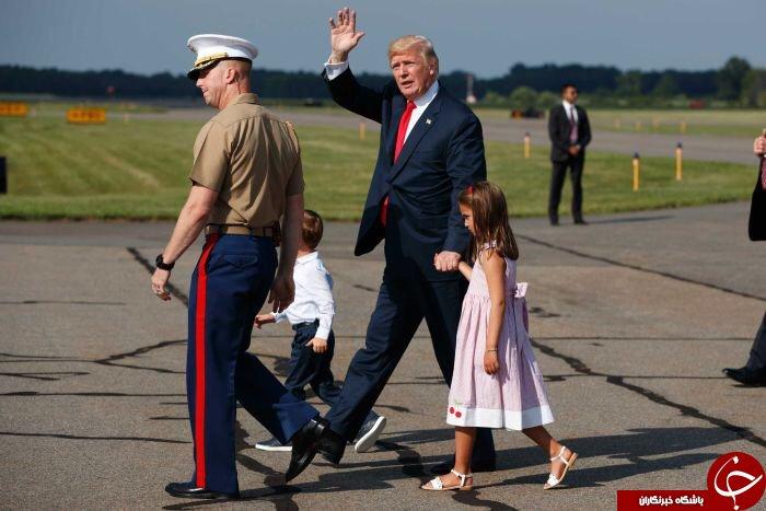 خوشگذرانیهای متفاوت پوتین و ترامپ+ تصاویر