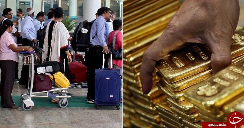 کشف ۲۵ کیلوگرم طلا از مرد ویلچرسوار +عکس