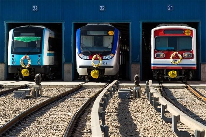 تصاویر جدید مترو تهران
