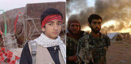 تصویری از نوجوانی شهید مدافع حرم که در اسارت داعش بود