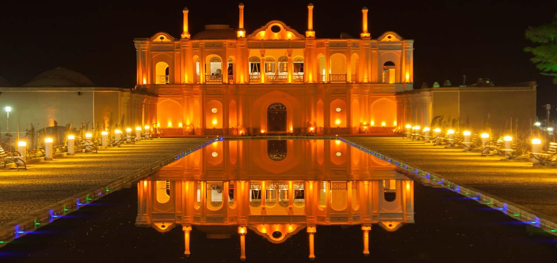 فتح آباد یکی از زیباترین باغ های ایرانی