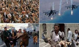 تشدید بحران انسانی در یمن با افزایش نگرانکننده شمار حملات جنگندههای ائتلاف متجاوز سعودی