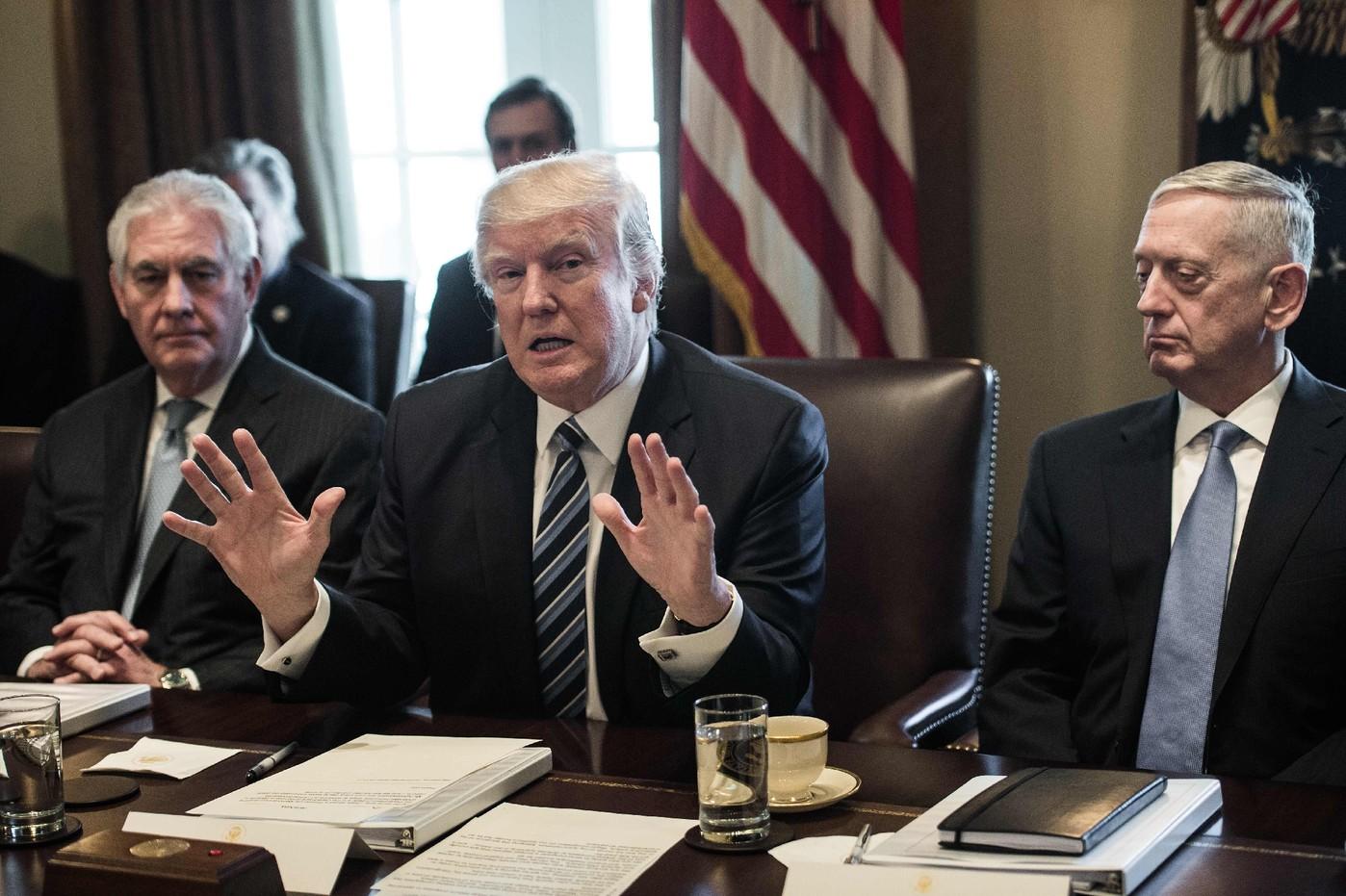ایجاد دودستگی در دولت ترامپ پس از تشدید لفاظیها علیه کره شمالی,