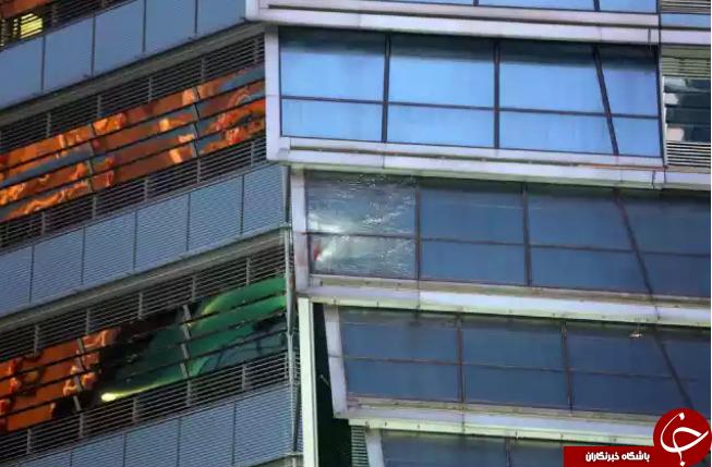 خودکشی دردناک زن جوان با پریدن از برج 118 طبقه + تصاویر