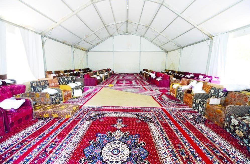 چادرهای VIP حج مخصوص پولدارهای سعودی + تصاویر