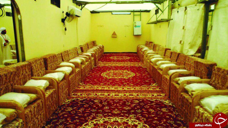 چادرهای VIP حج مخصوص پولدارهای سعودی+ تصاویر
