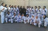 باشگاه خبرنگاران -بانوان کاراته کای چهارمحالی در سکوی قهرمانی