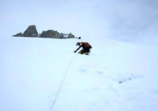 تصاویر صعود محمد حسینی کوهنورد لرستانی به قله گاشربروم ۲ در کشور پاکستان