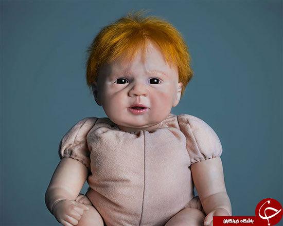 عروسکهای انسان نما+عکس