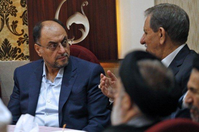 چه کسانی در مراسم دامادی پسر رئیس مجلس حضور داشتند؟ + عکس