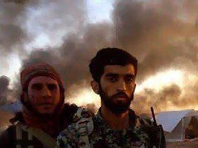 لحظه اسارت شهید محسن حججی به دست تروریستهای داعش+فیلم