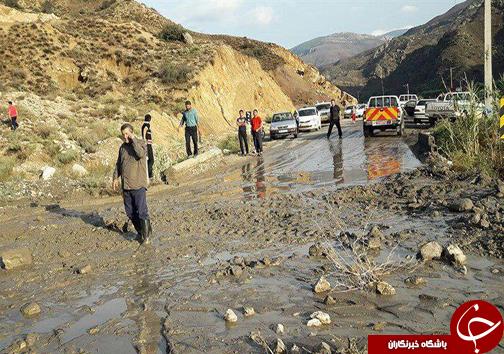 آخرین وضعیت سیلاب در گلستان