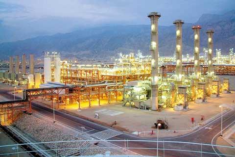 تولید 8 میلیارد و 185میلیون متر مكعب گاز شیرین از پالایشگاه دوم پارس جنوبی