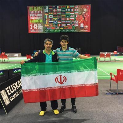 صعود بدمینتون باز همدانی به دور سوم مسابقات بلغارستان