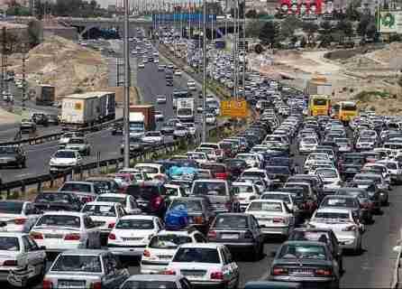 ترافیک نیمه سنگین در محورهای مواصلاتی زنجان