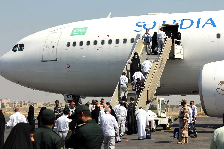 اولین گروه زائران حج تمتع استان بوشهر عازم مدینه منوره شدند