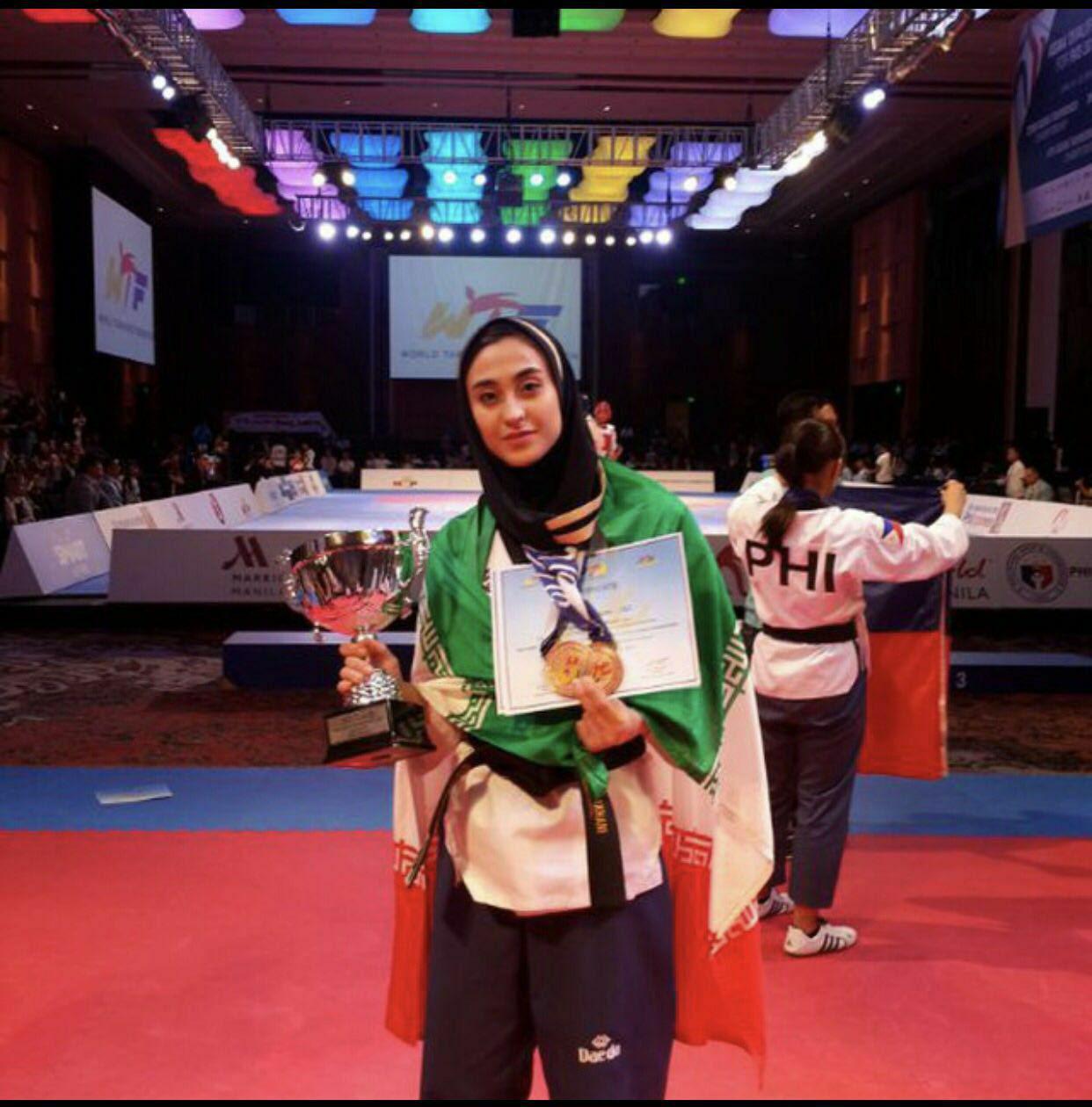 بانوی زنجانی در ترکیب اصلی تیم ملی تکواندو