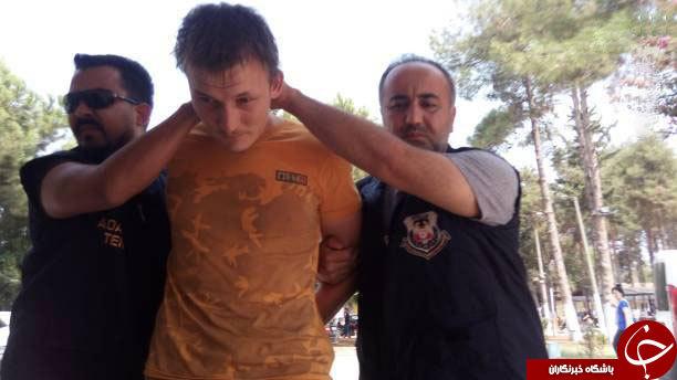 بازداشت داعشی روس در ترکیه+عکس