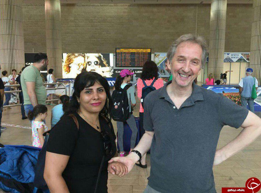 اولین تصاویر وبلاگنویس فراری ایرانی پس از پناهندگی به اسرائیل
