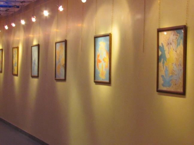 نمایشگاه نقاشی چهره در رفسنجان