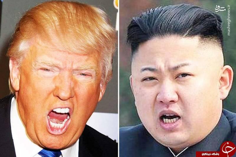 آیا ترامپ و کیم اولین جنگ هستهای تاریخ را رقم میزنند؟ +عکس