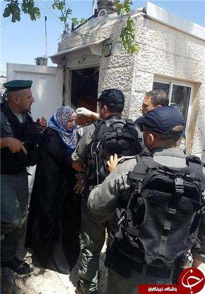 بازداشت یک دختر فلسطینی به اتهام انجام عملیات شهادت طلبانه +عکس