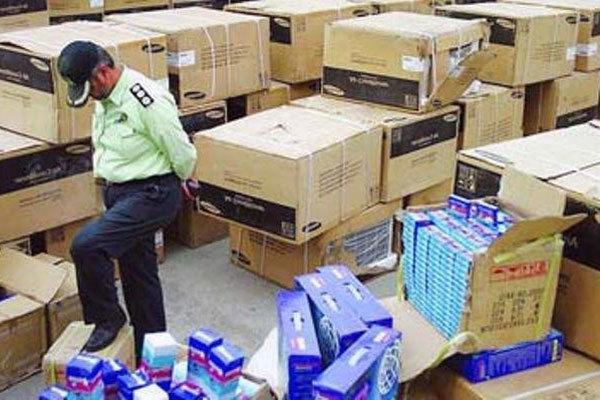 توقیف ۱.۵ میلیارد ریال کالای قاچاق در کنگان