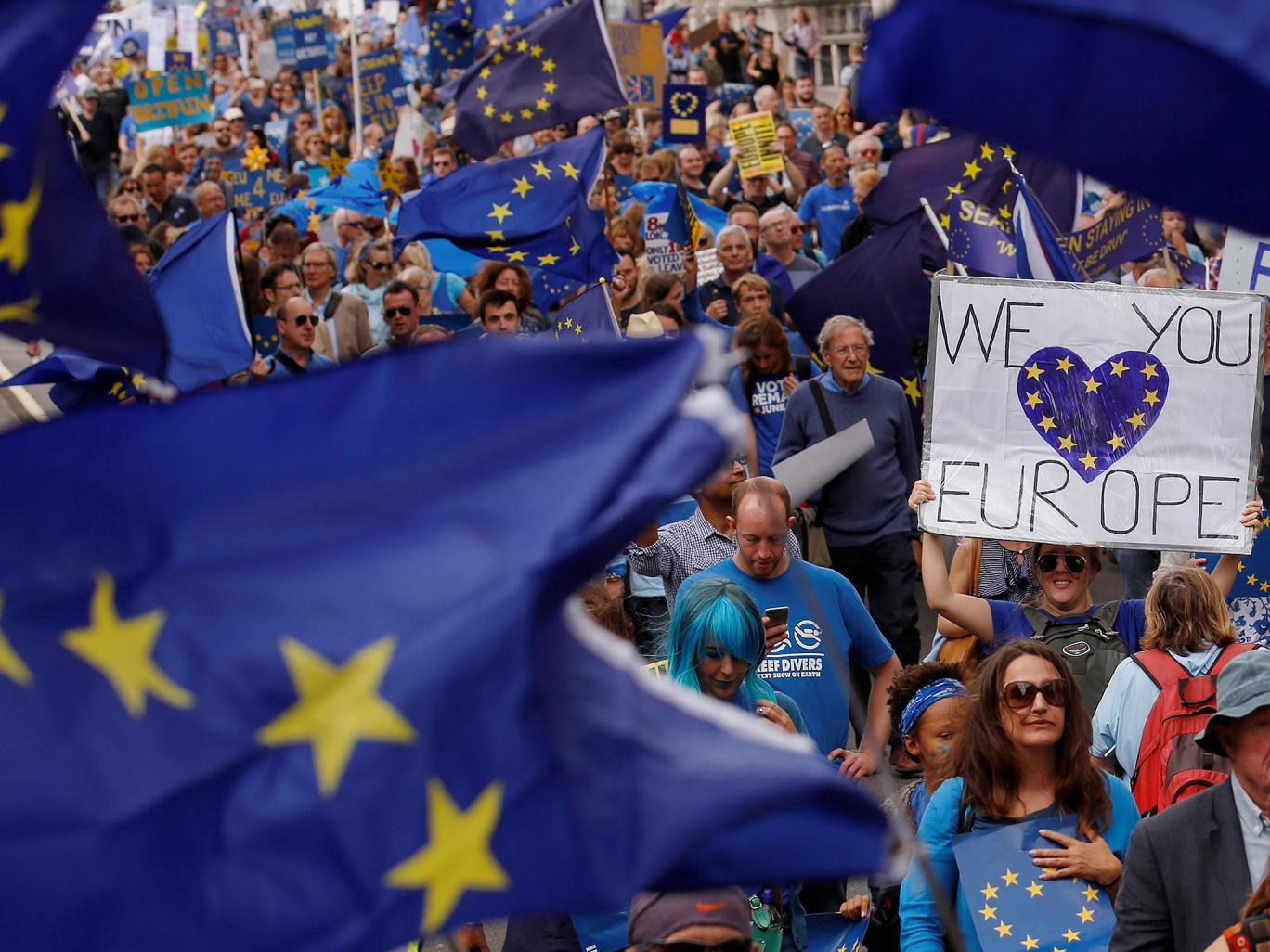 29 درصد مخالفان برکسیت خواهان خروج اتباع کشورهای اتحادیه اروپا از انگلیس هستند