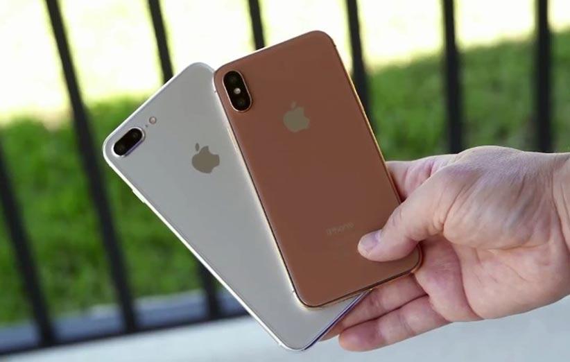 انتشار ویدئویی داغ از طراحی iPhone 8 و iPhone 7s Plus