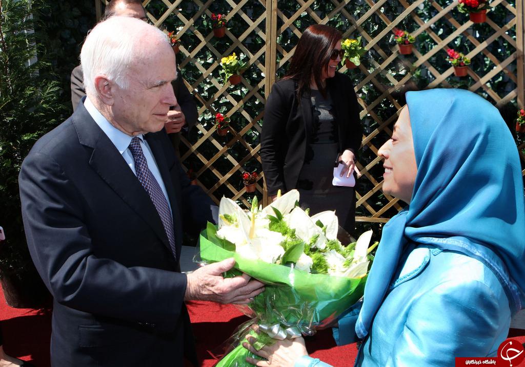 دیدار سه سناتور ارشد آمریکایی با سرکرده منافقین در آلبانی+ تصاویر