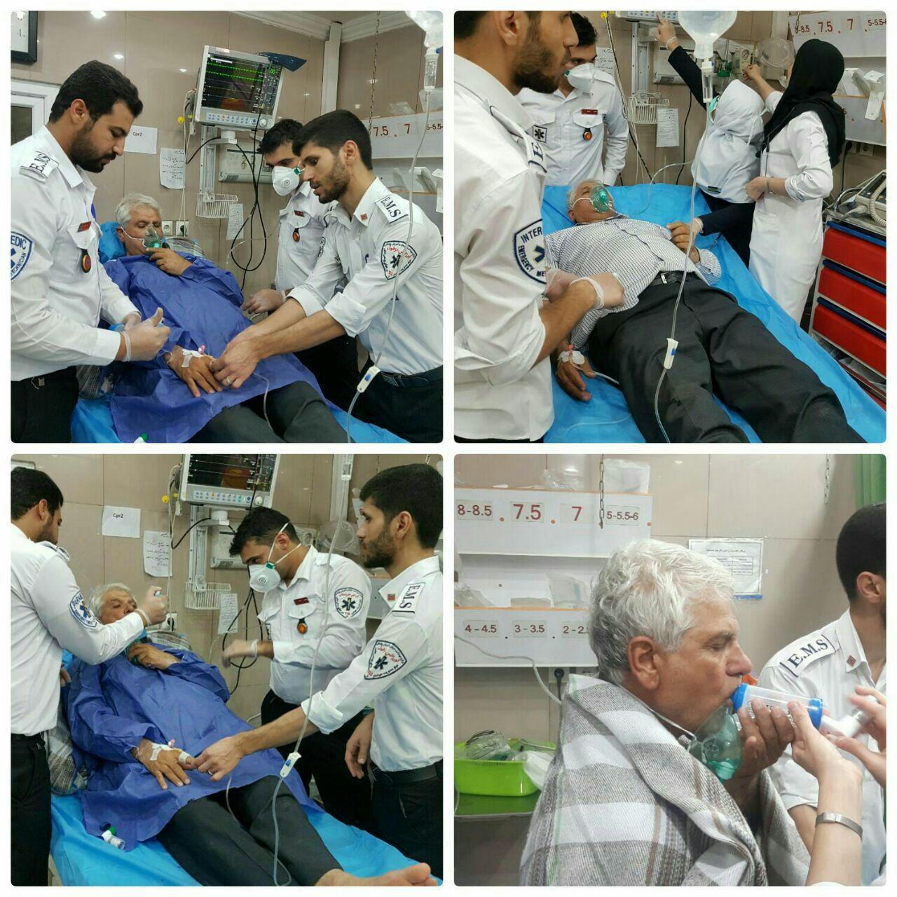 مسمومیت بیش از 400 نفر بر اثر نشت گاز کلر در دزفول / سه مسئول دزفولی در میان حادثه دیدگان / افزایش شمار حادثه دیدگان