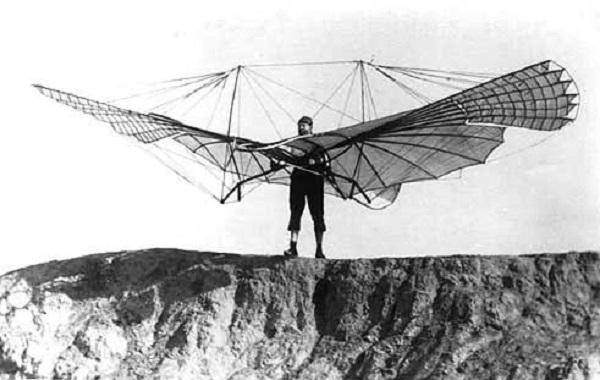 تلاشهای نخستین انسان برای پرواز+ فیلم و تصویر