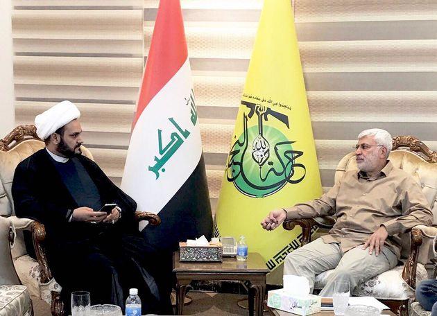 باشگاه خبرنگاران -ابو مهدی المهندس با دبیرکل نُجَباء دیدار کرد