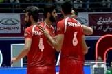 صعود مقتدرانه والیبال ایران به مسابقات قهرمانی جهان + فیلم
