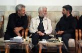 حضور نماینده مقام معظم رهبری در منزل شهید محسن حججی