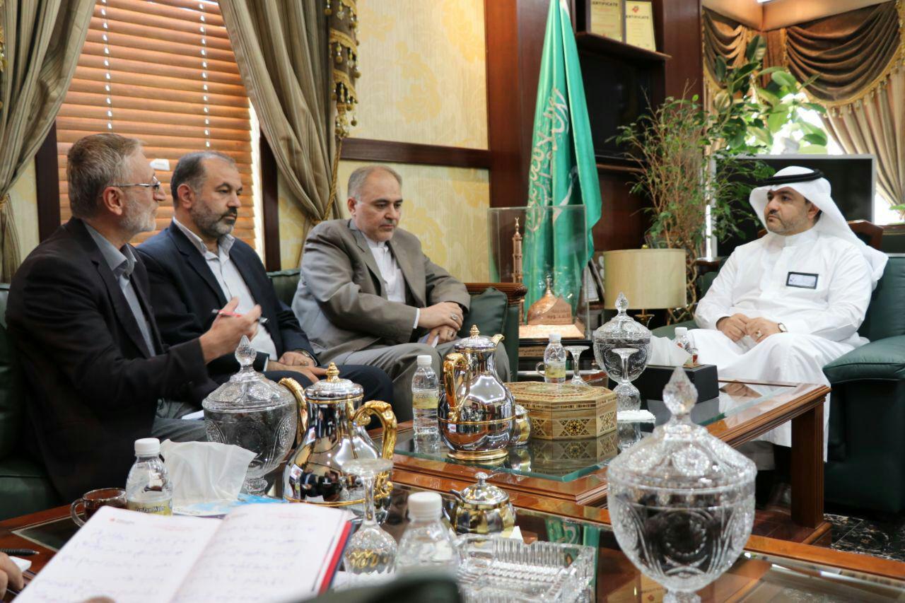 ملاقات رئیس هیئت کنسولی ایران و رئیس ستاد مدینه با معاون وزیر حج عربستان