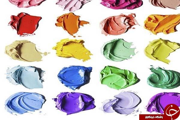 باور میکنید این لکههای رنگ با مدادرنگی نقاشی شده اند؟