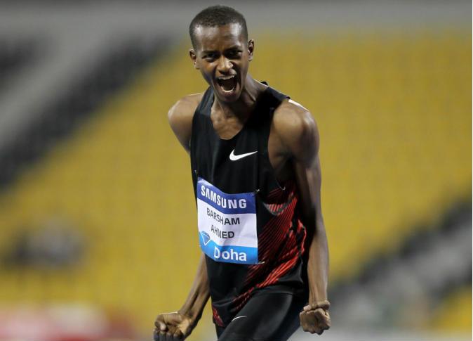 قهرمان معتز برشم قطری در پرش ارتفاع/طلای دوی 1500 متر به دونده کنیایی رسید