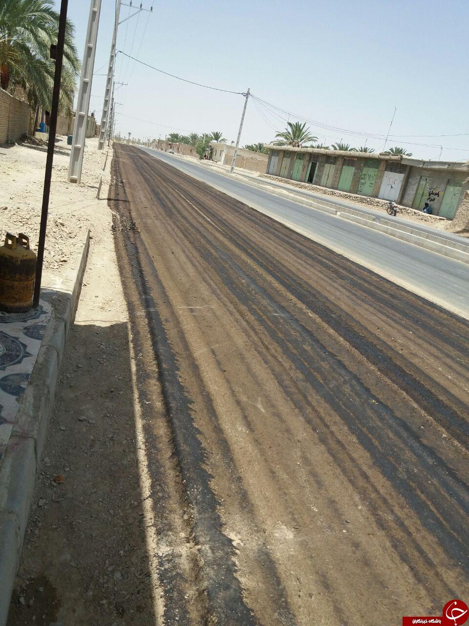 وضعیت نامناسب جاده کهن ملک + تصاویر