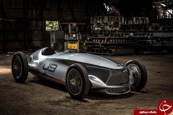 یک خودروی الکتریکی با ظاهری کلاسیک+عکس