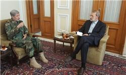 نشست وزیر پیشنهادی دفاع با رئیس و نواب رئیس مجلس شورای اسلامی