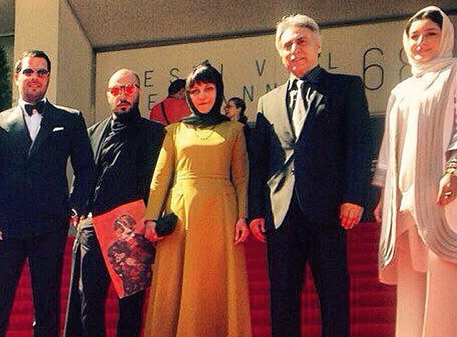 تصاویری از لباسهای بازیگران ایرانی روی فرش قرمز کن