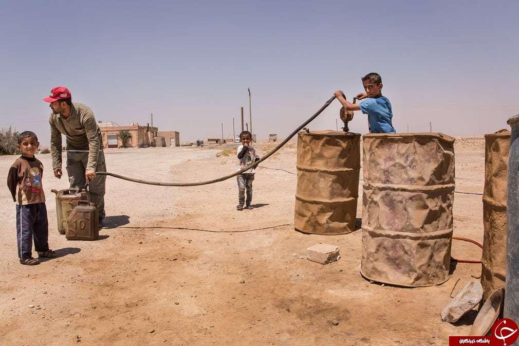 جنگ در رقه به روایت تصویر